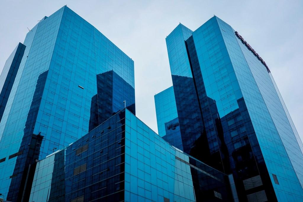 Beijing Towers - Fuji WCL-x100