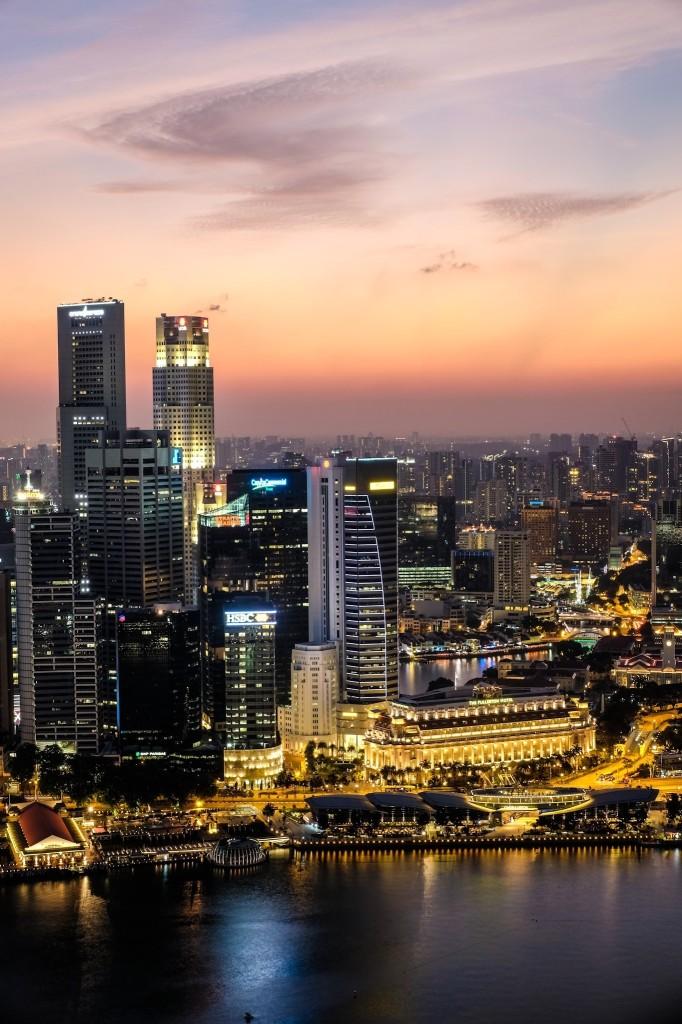 Singapore Sunset Fuji TCL-x100