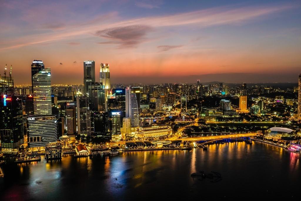 Singapore Sunset Fuji WCL-x100