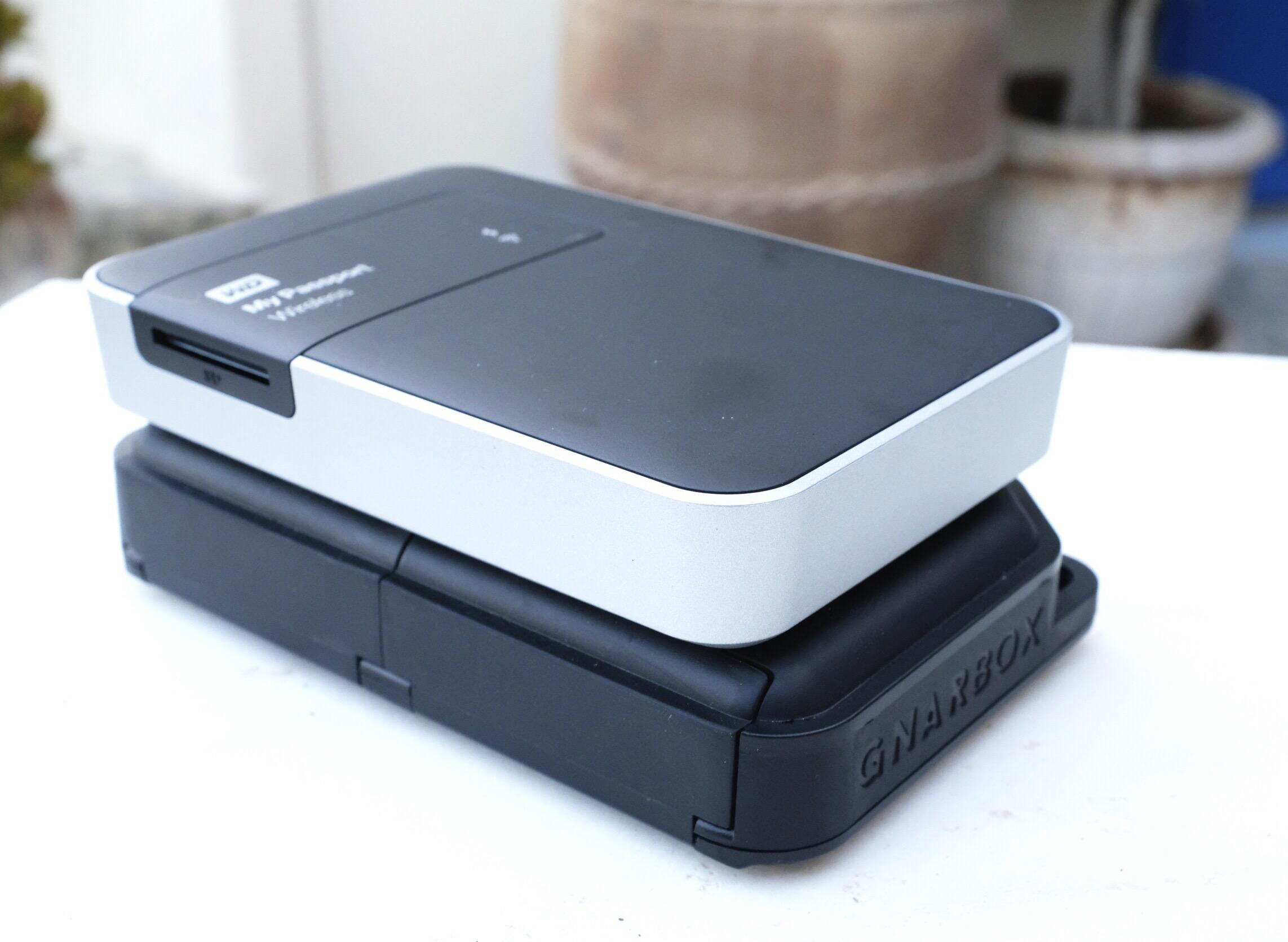Gnarbox, WD My Passport Wireless